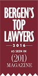 Bergen's Top Lawyers 2016 As Seen in (201) Magazine